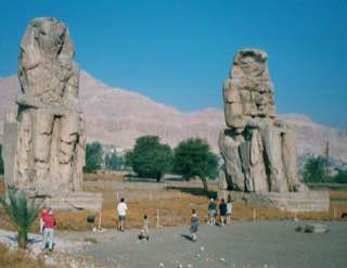 Colossi of Memnon, egypt , karnak