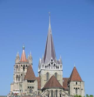 Lausanne Cathedral, switzerland , lausanne
