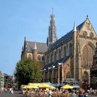 Grote Kerk, Haarlem, netherlands , lisse