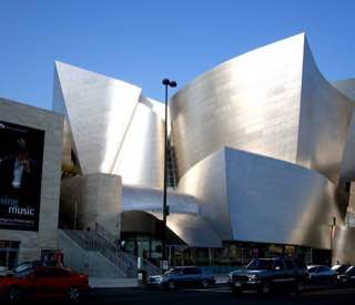 Walt Disney Concert Hall, usa , losangeles