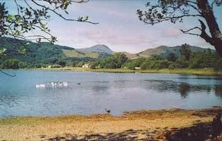 Loch Ard, scotland , luskentyrebeach