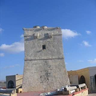 Qawra Tower, malta , mdina
