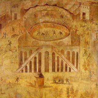 Amphitheatre of Pompeii, italy , naples