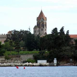 Lérins Abbey, france , nice
