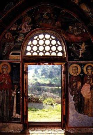 Painted Churches in the Troödos Region, republiccyprus , omodos