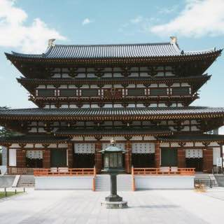 Yakushi-ji, japan , osaka