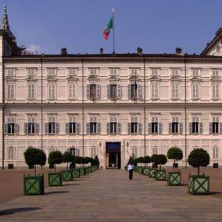 Royal Palace of Turin, italy , piedmont