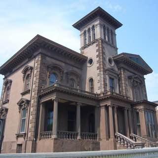 Victoria Mansion, usa , portland