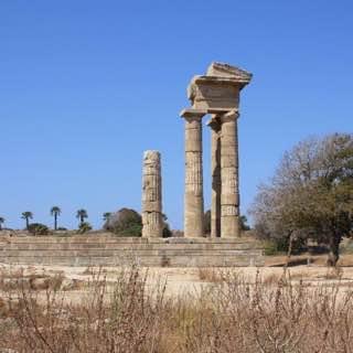 Acropolis of Rhodes, greece , rhodes