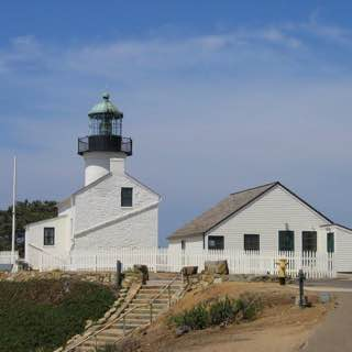 Old Point Loma Lighthouse, usa , sandiego