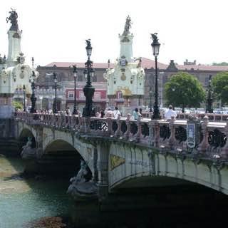 María Cristina Bridge, spain , sansebastian