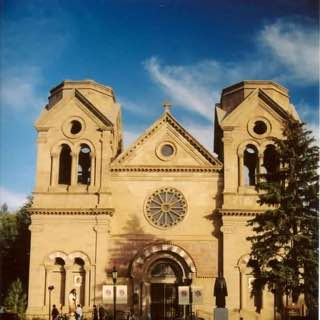 Cathedral Basilica of St. Francis of Assisi, usa , santafe