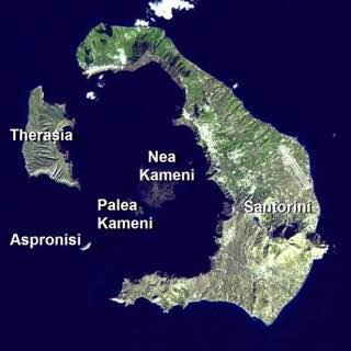 Santorini caldera, greece , santorini