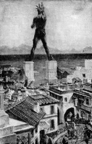 Colossus of Rhodes, greece , symi