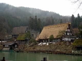 Hida Minzoku Mura Folk Village, japan , takayama
