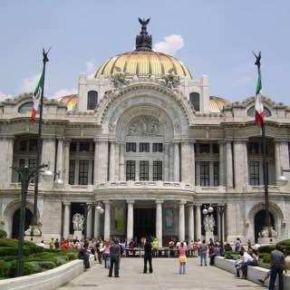 Palacio de Bellas Artes, Mexico City, mexico , teotihuacan