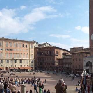 Piazza del Campo, italy , tuscany