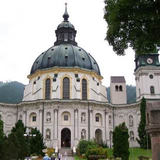 Ettal Abbey, austria , tyrolwest