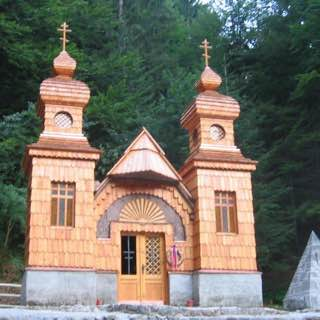 Russian Chapel, Vršič, italy , veneziagiulia