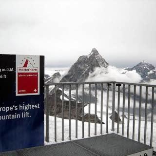Klein Matterhorn, switzerland , zermatt