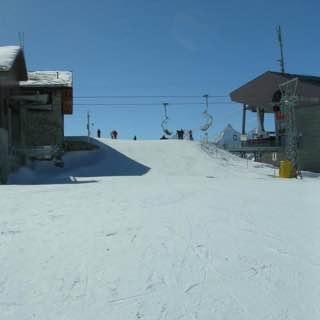 Sunnegga Paradise ski area, switzerland , zermatt