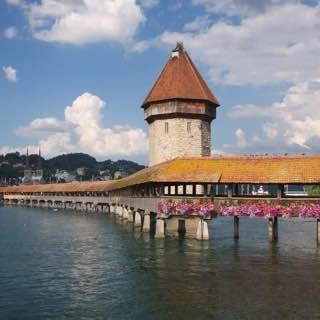 Kapellbrücke, switzerland , zurich