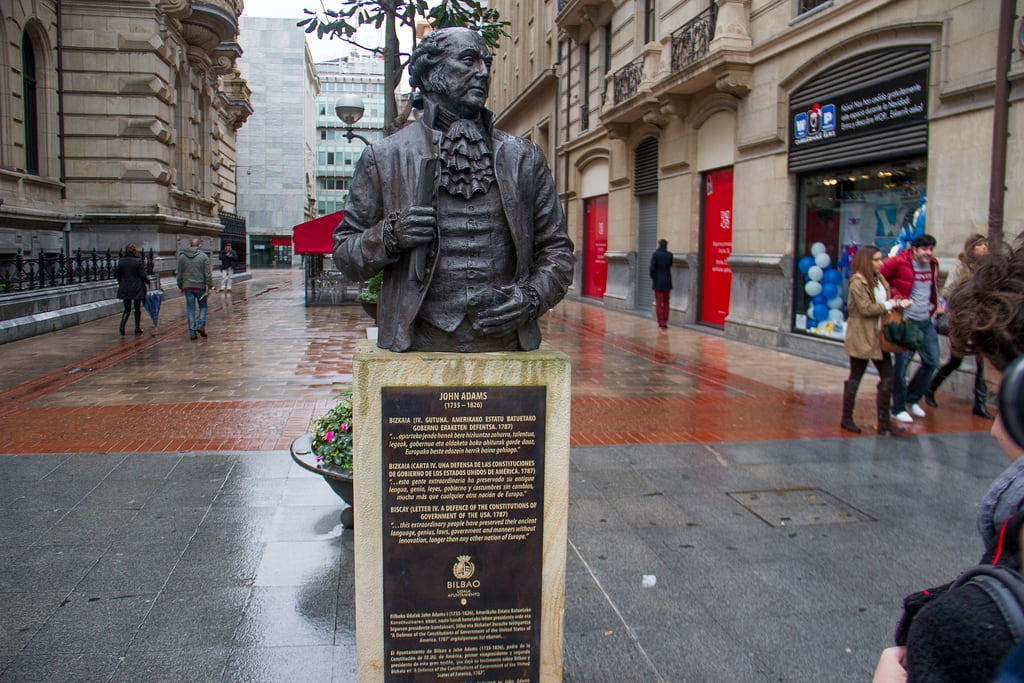 Imagine de John Adams. rain john spain europe adams bilbao bizkaia vizcaya basquecountry biscay 2013