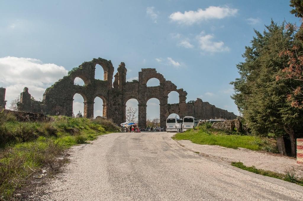 Image of Aqueduct. turkey antalyaprovince