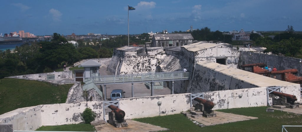 Image of Fort Charlotte near Nassau. vacation fort military historic bahamas nassau 2007 fortcharlotte