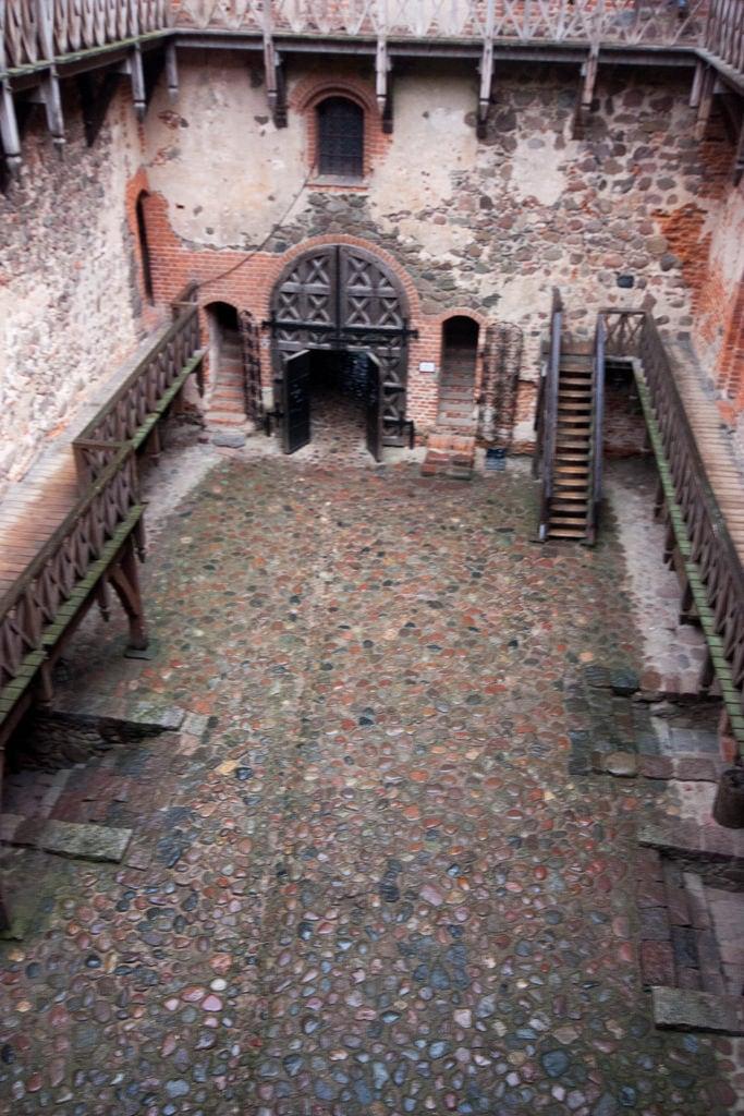 Image of Trakai Island Castle. red lake brick castle stone geotagged village medieval ethnic lithuania trakai ltu rebuilt tatar karaim casle karaims užutrakis geo:lat=5465279174 geo:lon=2493414760 pabaliųk trakaiislandcaslte