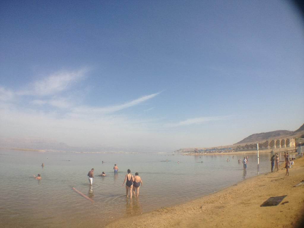 תמונה של Dead Sea Beach (חוף ים המלח) חוף באורך של מטר 551.