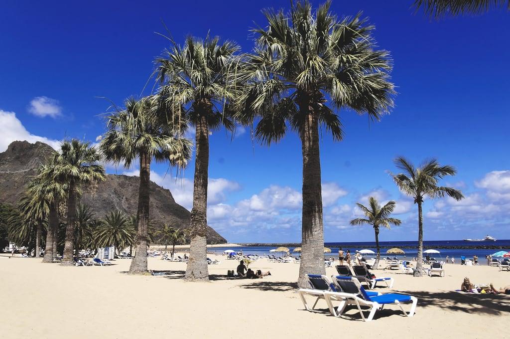 Playa de las Teresitas görüntü. teneriffa teneriffe stefanschöffl stefanschoeffl