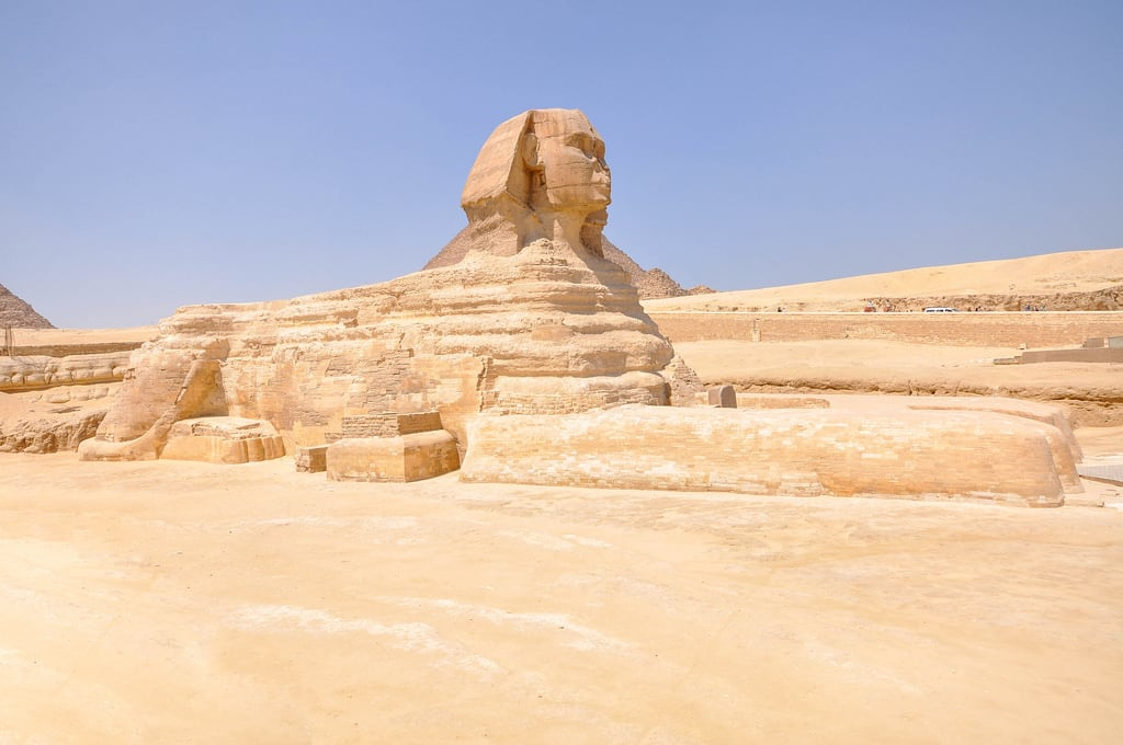 Great Sphinx of Giza की छवि.