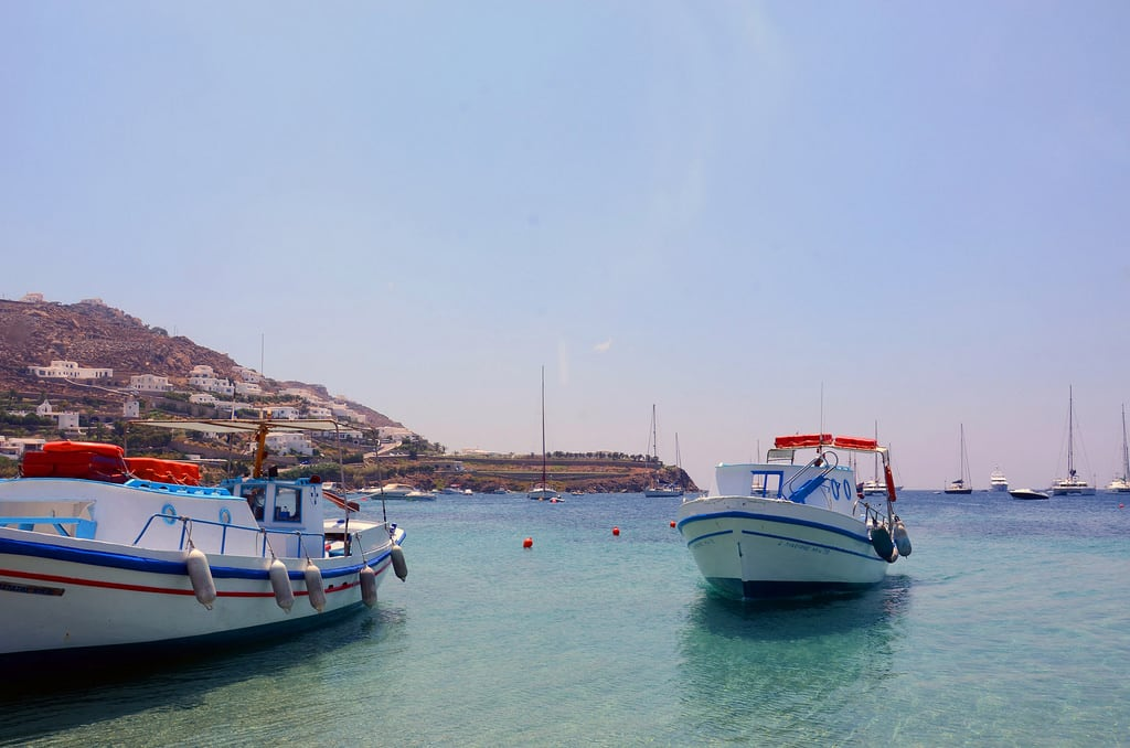 תמונה של Ornos Beach (Ορνός) Ornos. praia beach island greece ilha mykonos grécia ελλάδα παραλία νησί ελληνικήδημοκρατία μύκονοσ míconos