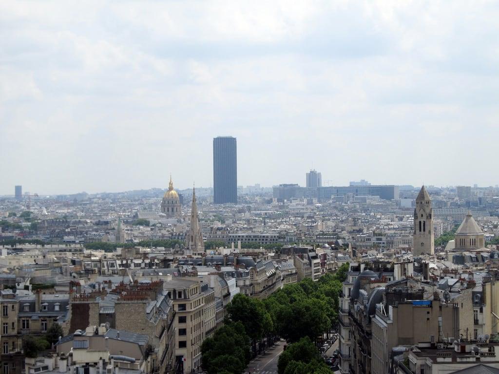 蒙帕納斯大樓 的形象. paris france tower spring montparnasse arcdetriomphe lesinvalides 2014