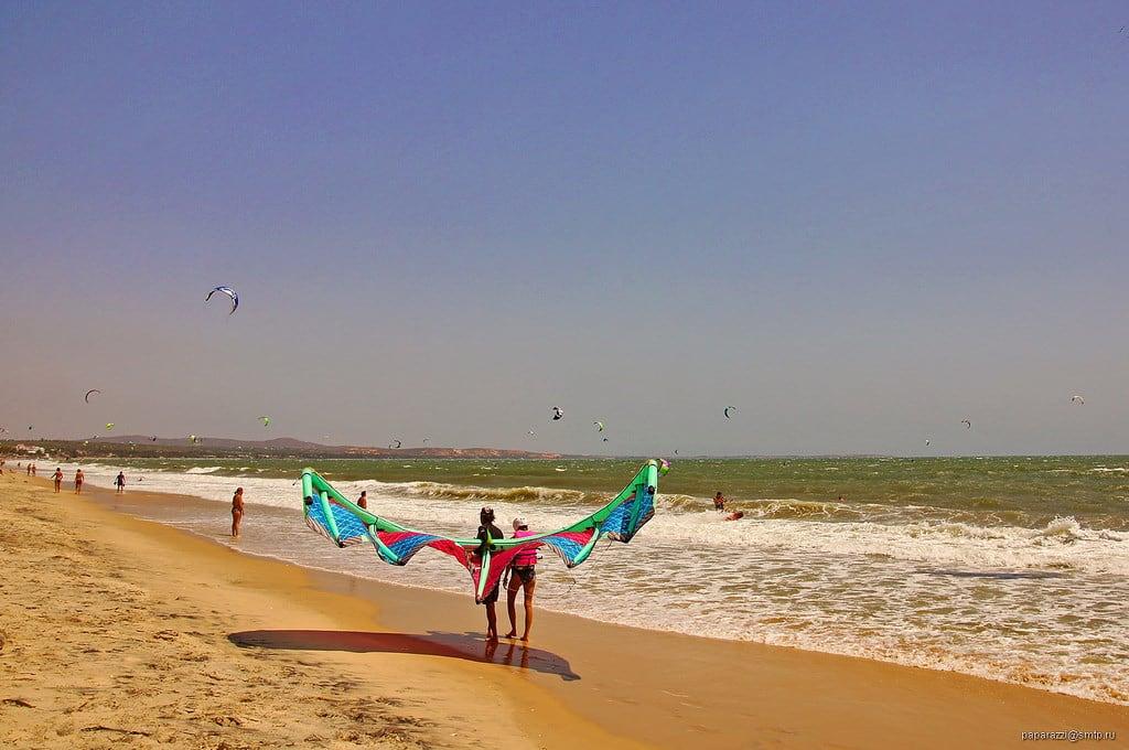 Obrázek Bãi tắm Hàm Tiến. travel sea kite beach sand asia vietnam vn phanthiet muine bìnhthuận вьетнам tpphanthiết