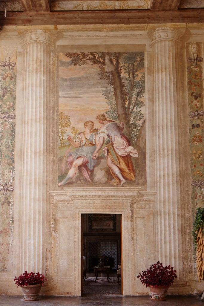 Villa Emo の画像. italia palladio villaemo