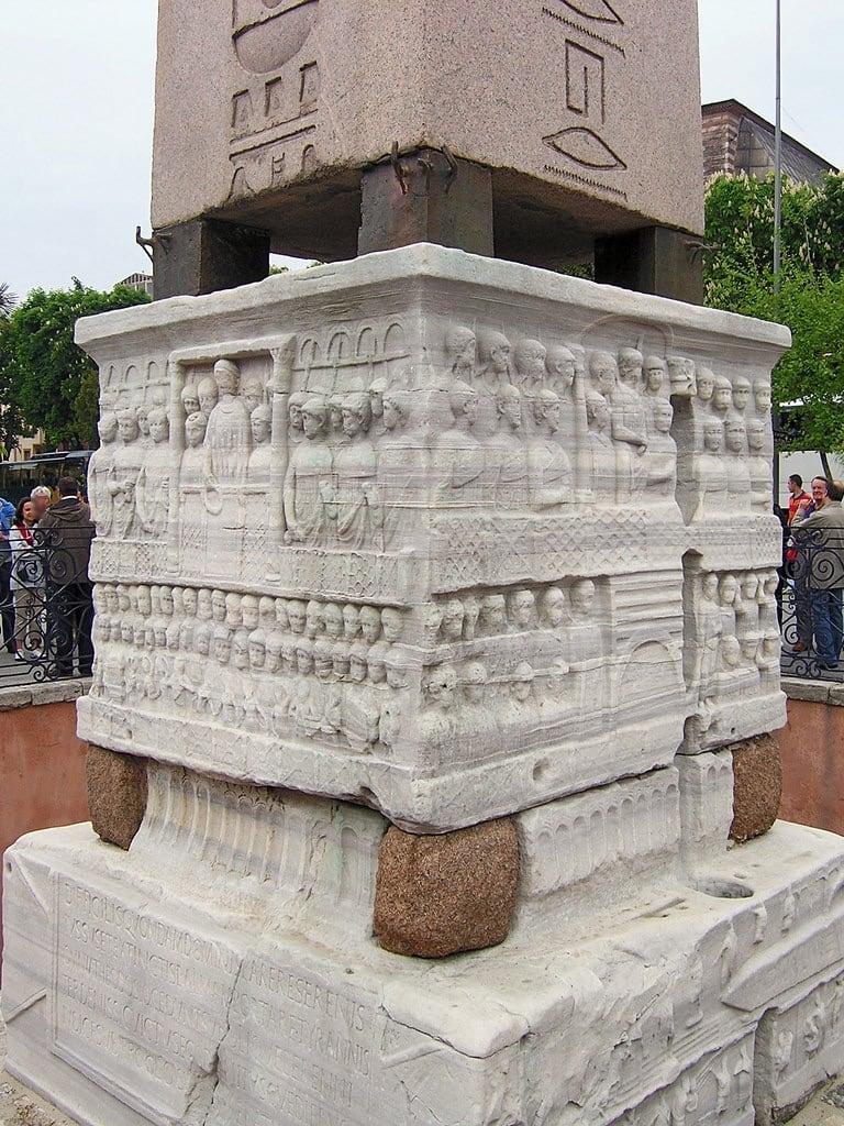Image of Obelisk of Theodosius. turkey geotagged istanbul tur sultanahmet turquía kastamonu köyü geo:lat=4100588868 geo:lon=2897533537 danaköy