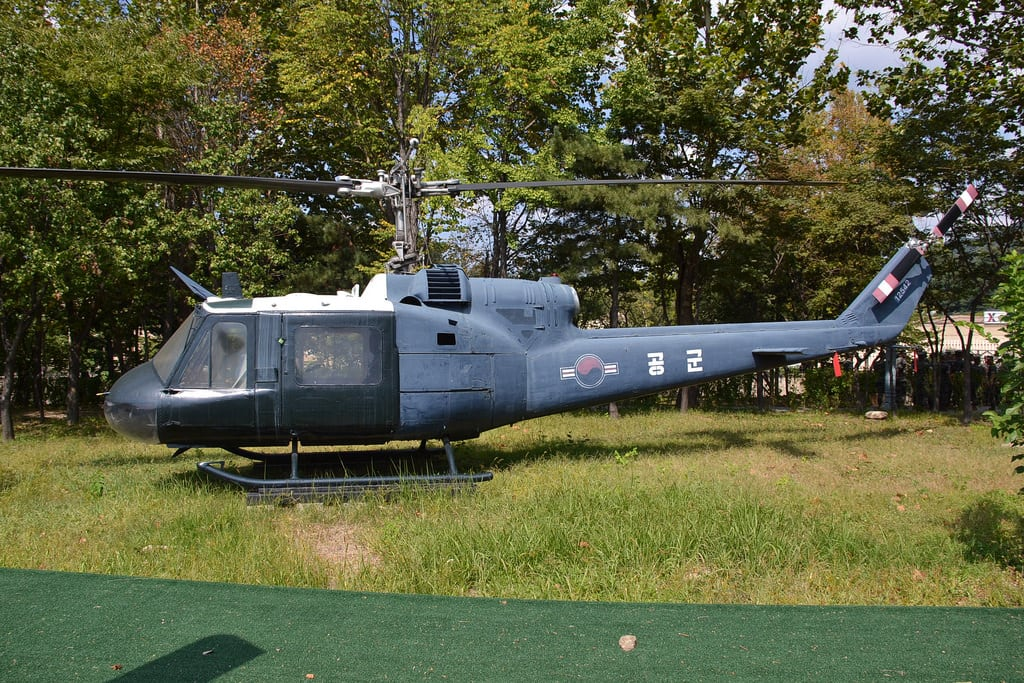 Image of Bell UH-1B Iroquois.