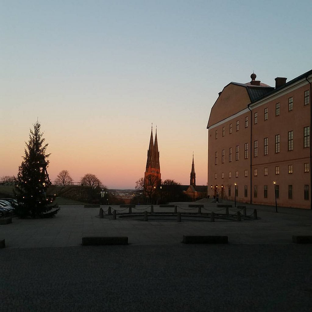 Image of Uppsala slott. square squareformat iphoneography instagramapp uploaded:by=instagram
