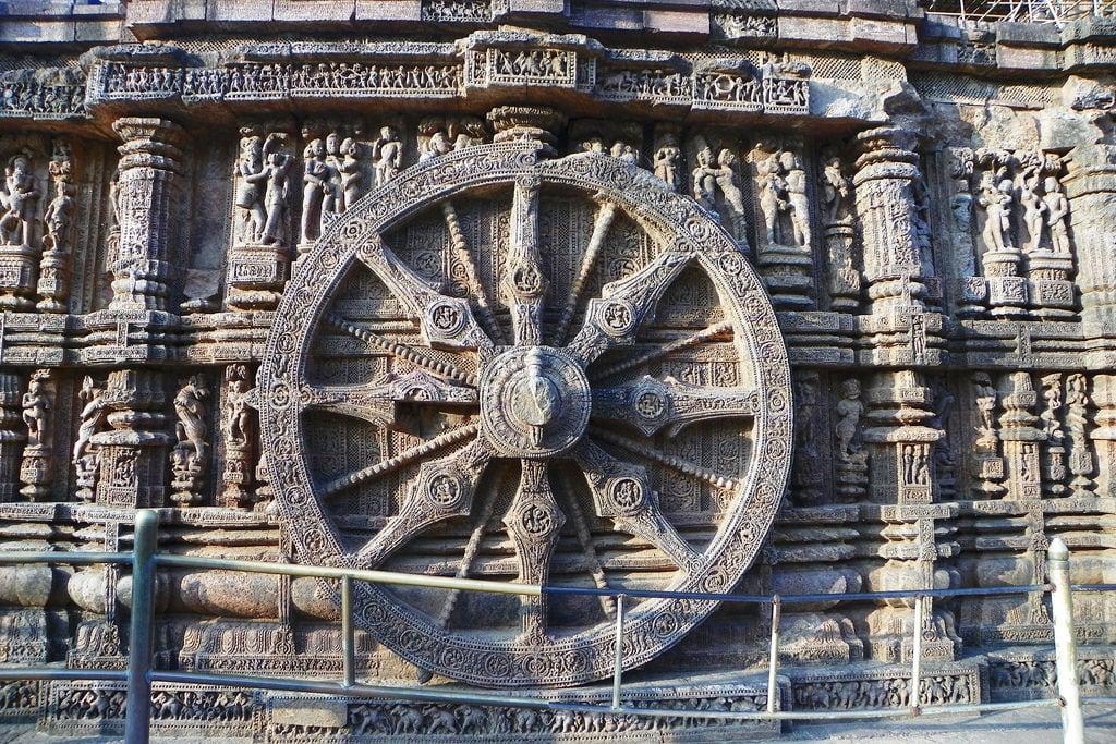 Изображение Sun Temple. india orissa 2015