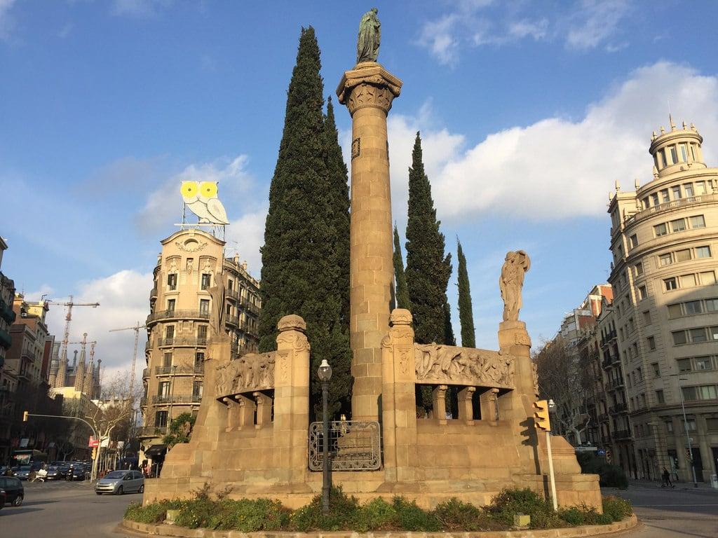Image of Monument a Mossèn Jacint Verdaguer. barcelona europa europe city citytrip tapas espana spanje catalunya catalonië gaudi reizen travel stedentrip fcb paularps arps 2018 cultuur natuur sagradafamilia campnou