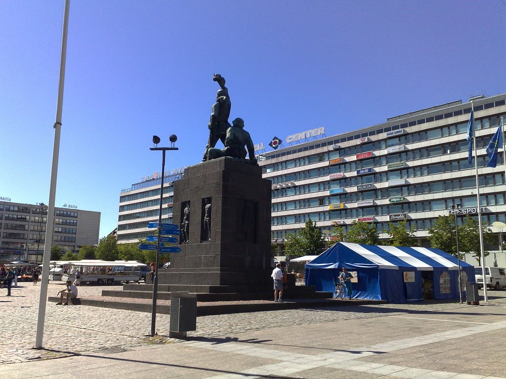 Image of Vapaudenpatsas. finland statueofliberty vaasa vapaudenpatsas