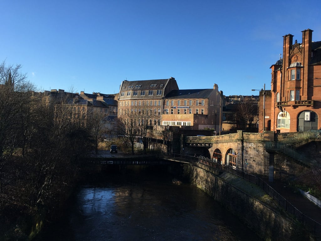 Изображение Kelvinbridge. winter glasgow kelvinbridge riverkelvin
