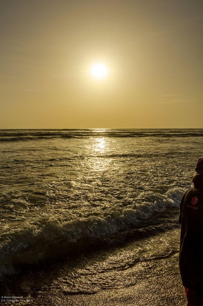 Изображение Calangute Beach. india goa calangute in