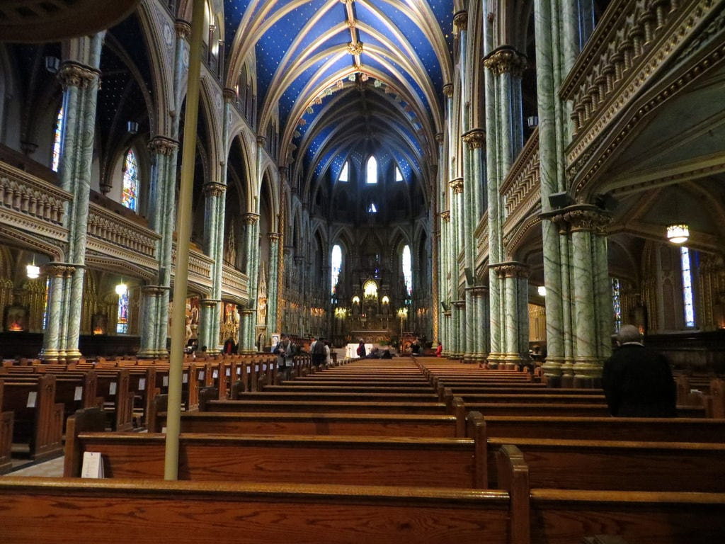 Image of Notre-Dame Cathedral Basilica. ottawa ontario canada notredamecathedral
