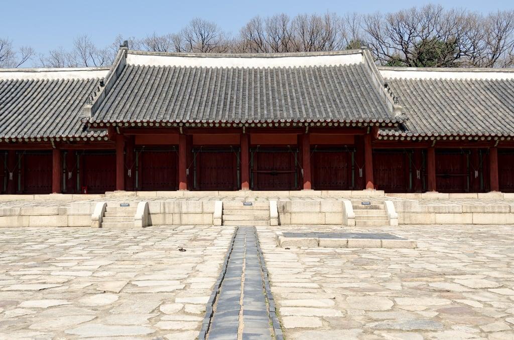 Зображення Jongmyo Shrine. jongmyoshrine seoul southkorea kr