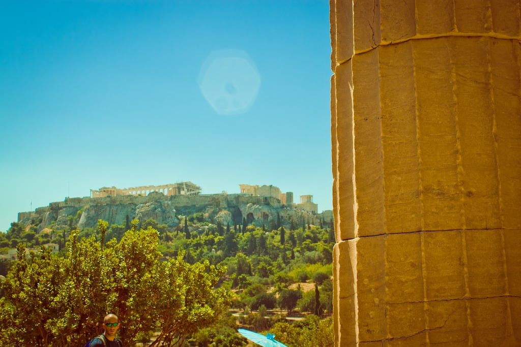 Image of Temple of Hephaistos. 2016 acropolis agora ancientagora athens greece hephaestus hephaisteion hephaistos hephesteum lightroom temple templeofhephaestus templeofhephaistos theseion theseum athina attica