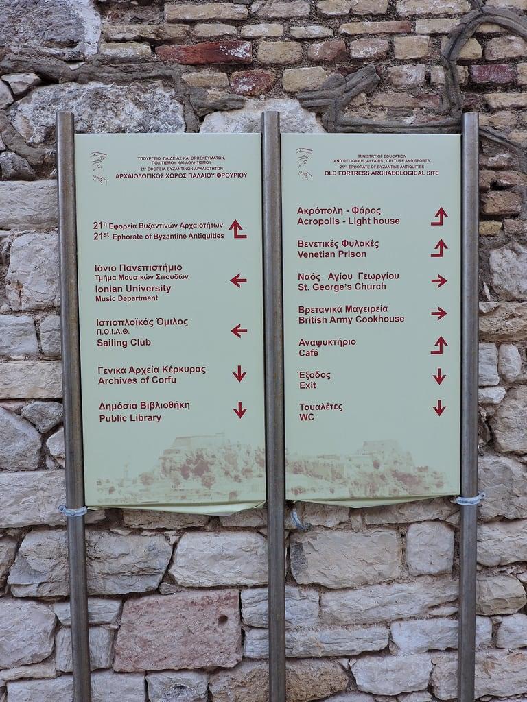 Obraz Old Fortress. kerkyra κέρκυρα corfu ケルキラ島