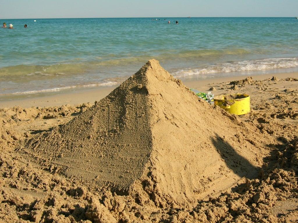 Billede af Stella Beach Strand med en længde på 631 meter.